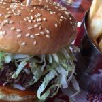 Burger at Red Robin