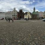 Main town square. Hotel Reuterhaus is the yellow one in the background