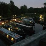 Bath Marina at night