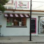 Cute little ice cream shop owned and operated by a sweet teenager!