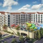 Hotel Exterior and Surfside Waterpark Overview