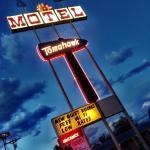 Vintage Americana Motel Sign