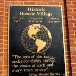 Roscoe Village Plaque