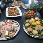 Catering trays ready to go