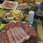 raclette avec fromage du village