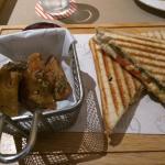 Pulled Chicken Sandwich & Fries