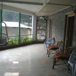 Private Verandah of suite 44