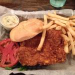 The best grouper sandwhich !