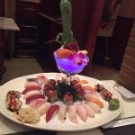 Sushi for 2 plus Sushi/Sashimi combo in one platter