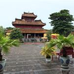 Nice temple inside the imperial city