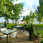 A gorgeous shot of the patio at The Northridge Inn!