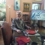 Innkeeper Jerry Lundeen in the Great Room of Lundeen Inn of the Arts