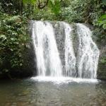 Una de las cascadas de Milpe Lodge