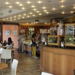 Cernobbio : Bar Gelateria Cafétéria GEI : Vue d'ensemble (depuis 1890).