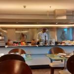 Uma das outras mesas do Buffet do cafe da manha