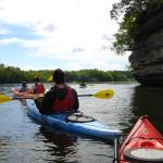 Kayaking the Lemonweir and Wisconsin River