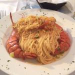 Angel hair Lobster pasta