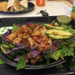 Shrimp lime salad