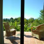 terraza y vistas desde habitación