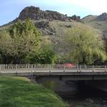 Lava Spa Motel-View of River