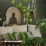 Espaço Buda - quintal