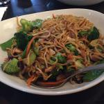 Lo mein with veggies
