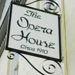 Opera House front sign
