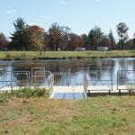 New fishing dock