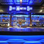 Home of The Blue Martini Bar
