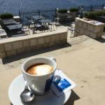 Coffee and sea