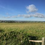 Looking back towards Bude from Elements restaurant