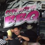 Brisket & Ribs at the Corkscrew BBQ
