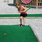 Mini golf.  Fun for all ages.