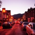 Southey Street at night.