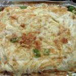 Nassi gorang, shrimp Szechuan, beef broccoli, malo tofu, beef rendang