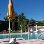 Una delle piscine esterne