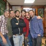 Ukulele Clan Band en el café Lord Byron de Avilés