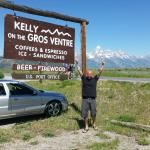 Kelly on the Gros Ventre