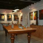 Galerie d'art intérieure