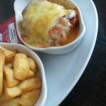 The gorgeous lasagne! Beautifully made and tastes amazing!