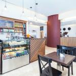 Coffee Shop & Reception Area