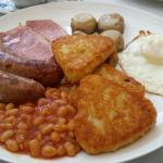 """Full Cornish"" breakfast"