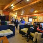 Backpacker's lounge