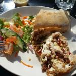 Revive Cafe, Galway. My Turkey wrap