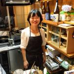 Owner, host, cook - Satoko
