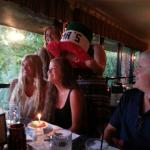 Celebrating our daughter's birthday at Mama's for the past 17 years.