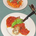Beef Braciole and Penne Pasta