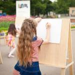 Пленэр в Парке/Landscape Drawing Classes in the Park