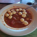 Manhattan clam chowder delish 👍