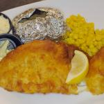 Fish Fry for lunch and dinner every Friday. This is a GREAT meal!